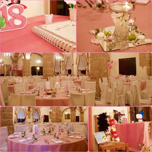 Favorito 18 anni in rosa. » Organizzare feste, eventi, wedding a Sora e  NU34